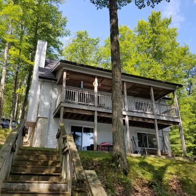 Evart Single Family Home For Sale: 10052 West Horsehead Lake