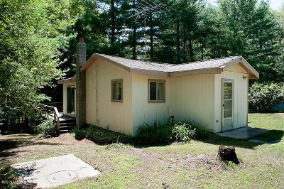 White Cloud Single Family Home For Sale: 3470 E Monroe Road