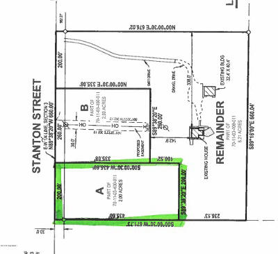 Holland, West Olive Residential Lots & Land For Sale: Stanton Street #A