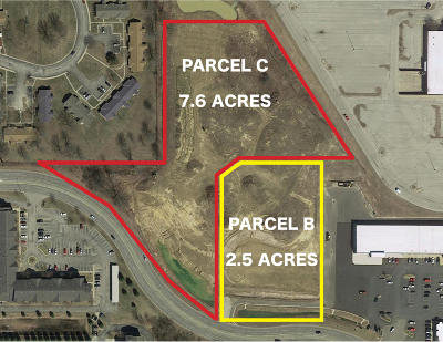 Benton Harbor Residential Lots & Land For Sale: Parcel C Fairplain Drive
