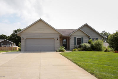 Otsego Single Family Home For Sale: 1011 Comstock Court