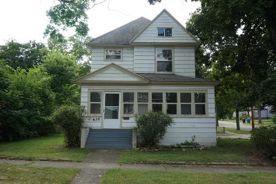 Kalamazoo Single Family Home For Sale: 635 Summer Street