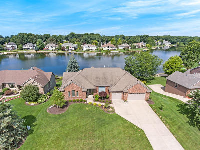 Single Family Home For Sale: 7691 Hidden Lake Drive