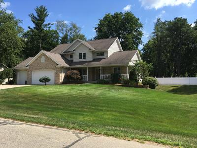 Clinton County, Gratiot County, Isabella County, Kent County, Mecosta County, Montcalm County, Muskegon County, Newaygo County, Oceana County, Ottawa County, Ionia County, Ingham County, Eaton County, Barry County, Allegan County Single Family Home For Sale: 440 Pineview Drive
