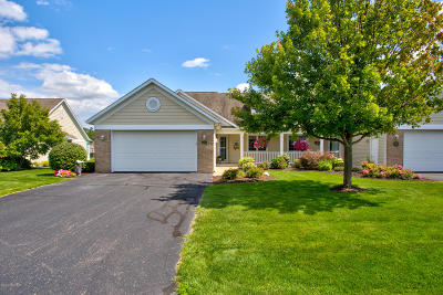 Kent County, Ottawa County Condo/Townhouse For Sale: 1666 W Clearwater Drive #67
