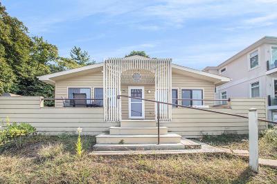 Michiana Shores Single Family Home For Sale: 3605 Lake Shore Drive