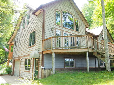 Benzie County, Charlevoix County, Clare County, Emmet County, Grand Traverse County, Kalkaska County, Lake County, Leelanau County, Manistee County, Mason County, Missaukee County, Osceola County, Roscommon County, Wexford County Single Family Home For Sale: 5050/5065 W Fox Farm Road