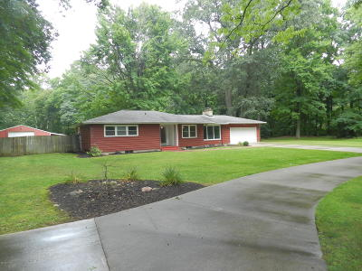 Clinton County, Gratiot County, Isabella County, Kent County, Mecosta County, Montcalm County, Muskegon County, Newaygo County, Oceana County, Ottawa County, Ionia County, Ingham County, Eaton County, Barry County, Allegan County Single Family Home For Sale: 578 Jenner Drive
