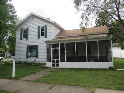 Berrien Springs Single Family Home For Sale: 213 S Cass Street
