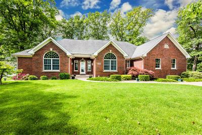 Berrien County, Branch County, Calhoun County, Cass County, Hillsdale County, Jackson County, Kalamazoo County, St. Joseph County, Van Buren County Single Family Home For Sale: 46967 Elizabeth Lane