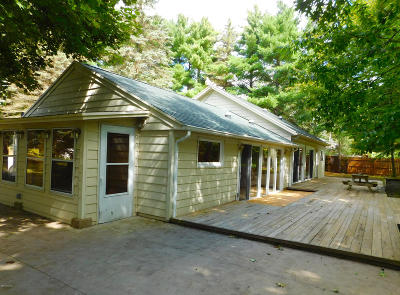 Benzie County, Charlevoix County, Clare County, Emmet County, Grand Traverse County, Kalkaska County, Lake County, Leelanau County, Manistee County, Mason County, Missaukee County, Osceola County, Roscommon County, Wexford County Single Family Home For Sale: 131 E Sauble Drive