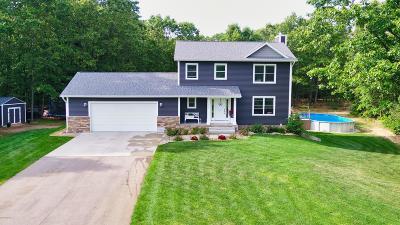 Grand Haven, Spring Lake, Ferrysburg Single Family Home For Sale: 12929 Binkwoods Drive
