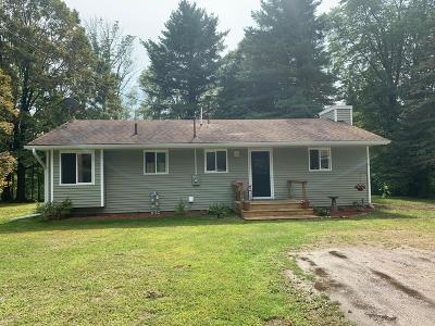 Hersey MI Single Family Home For Sale: $185,000