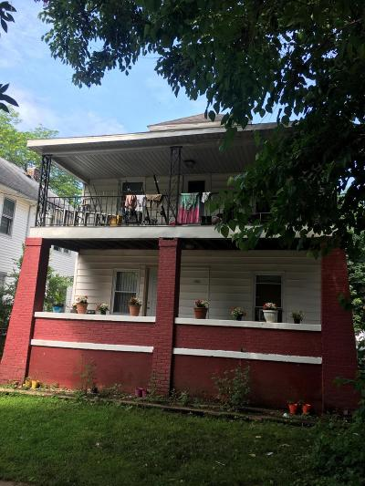 Clinton County, Gratiot County, Isabella County, Kent County, Mecosta County, Montcalm County, Muskegon County, Newaygo County, Oceana County, Ottawa County, Ionia County, Ingham County, Eaton County, Barry County, Allegan County Multi Family Home For Sale: 1323 Muskegon Avenue NW