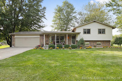 Grand Rapids Single Family Home For Sale: 3869 Fruit Ridge Avenue NW
