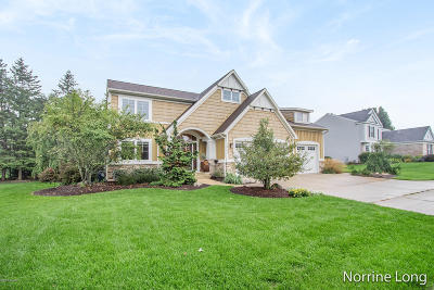 Rockford Single Family Home For Sale: 3899 Fraser Drive NE