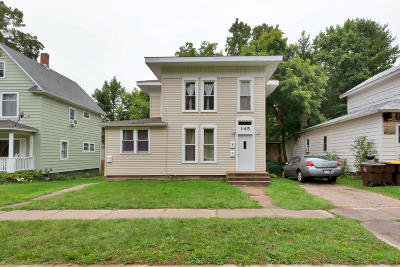 Clinton County, Gratiot County, Isabella County, Kent County, Mecosta County, Montcalm County, Muskegon County, Newaygo County, Oceana County, Ottawa County, Ionia County, Ingham County, Eaton County, Barry County, Allegan County Multi Family Home For Sale: 145 Lafayette Street