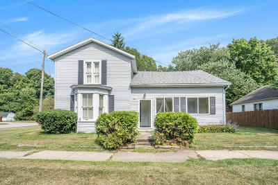 Berrien Springs Single Family Home For Sale: 400 S Mechanic Street