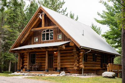 Grayling MI Single Family Home For Sale: $579,000