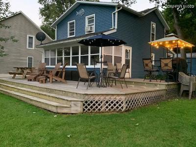 Single Family Home For Sale: 1240 Dean Lake Drive