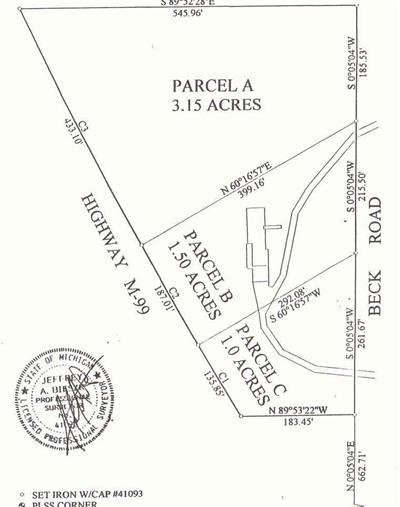 Jonesville Residential Lots & Land For Sale: M 99 Road