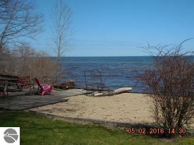 Tawas City Single Family Home For Sale: 1972 N Huron Road