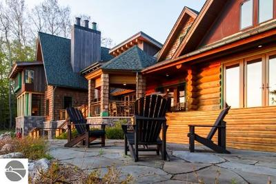 Antrim County Single Family Home For Sale: 222 S East Torch Lake Drive