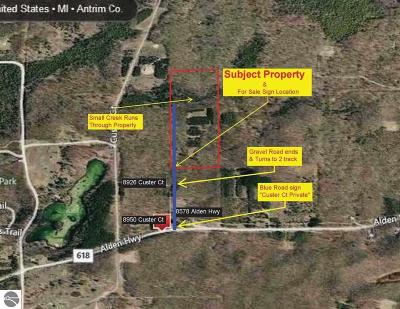 Mancelona MI Residential Lots & Land For Sale: $42,500