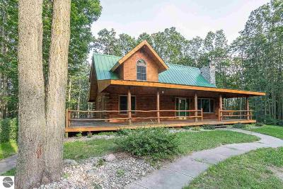Antrim County Single Family Home For Sale: 3827 Shumaker Road