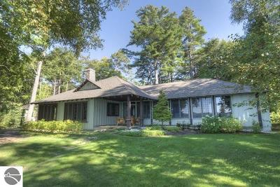 Leelanau County Single Family Home For Sale: 2893 N Lake Leelanau Drive