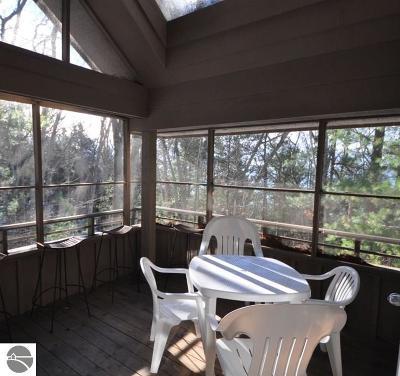 Leelanau County Condo For Sale: 49 Hawks Nest