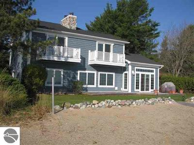 East Tawas Single Family Home For Sale: 1960 Ausable Point Road