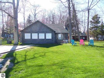 East Tawas Single Family Home For Sale: 156 Baldwin Resort Road