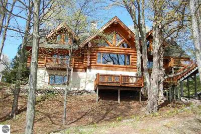 Antrim County Single Family Home For Sale: 2015 NW Torch Lake Drive