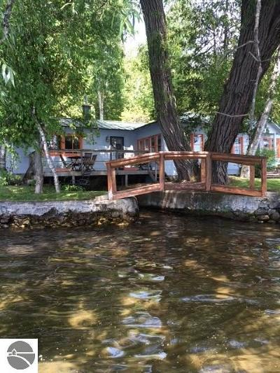 Antrim County Single Family Home For Sale: 3887 The Trail