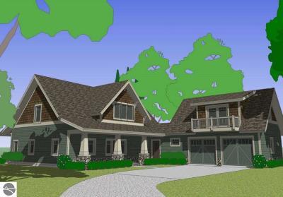 Single Family Home For Sale: Tbb Lot E & F Bass Bay Court