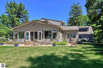 Elk Rapids MI Single Family Home For Sale: $969,500