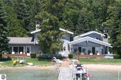 Benzie County Single Family Home For Sale: 5867 Crystal Drive