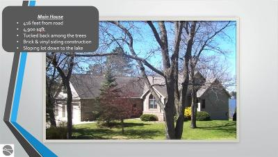 Oscoda Single Family Home For Sale: 5959 Cedar Lake Road