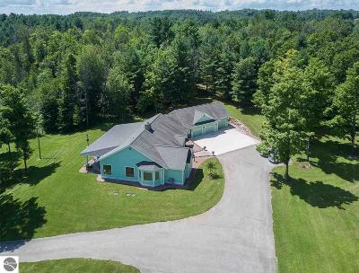 Traverse City Single Family Home For Sale: 1275 Dracka Road