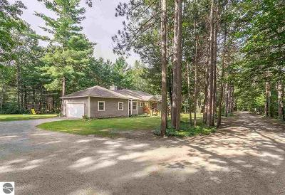 Traverse City Single Family Home For Sale: 1232 Fisher Road