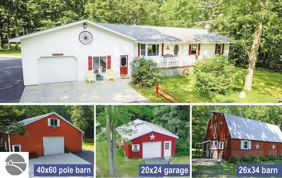 Traverse City Single Family Home For Sale: 11958 North Long Lake Road