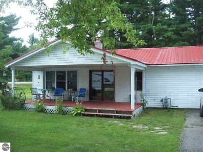 Tawas City Single Family Home For Sale: 25 N Plank Road