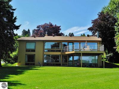 Leelanau County Single Family Home For Sale: 2091 S Lake Shore Drive