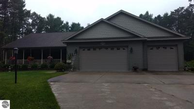 Oscoda Single Family Home For Sale: 6673 Roanoak Drive