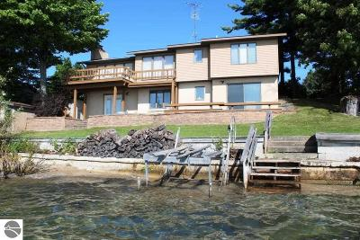 Suttons Bay Single Family Home For Sale: 486 N West Bayshore Drive