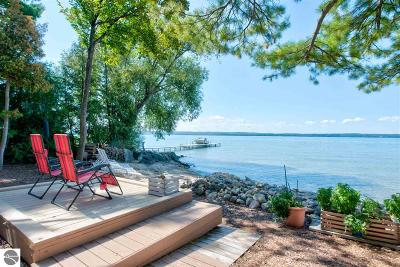 Traverse City Single Family Home For Sale: 8917 Peninsula Drive