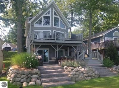 Elk Rapids MI Single Family Home For Sale: $494,900