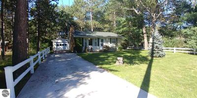 Oscoda Single Family Home For Sale: 4721 Gaston Way