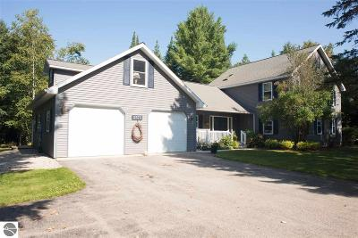 Grand Traverse County Single Family Home For Sale: 3573 Dock Road